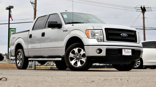 PRE-OWNED 2014 FORD F-150 STX REAR WHEEL DRIVE PICKUP TRUCK