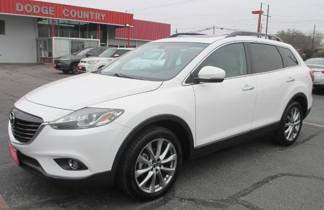 PRE-OWNED 2015 MAZDA CX-9 GRAND TOURING FRONT WHEEL DRIVE SUV